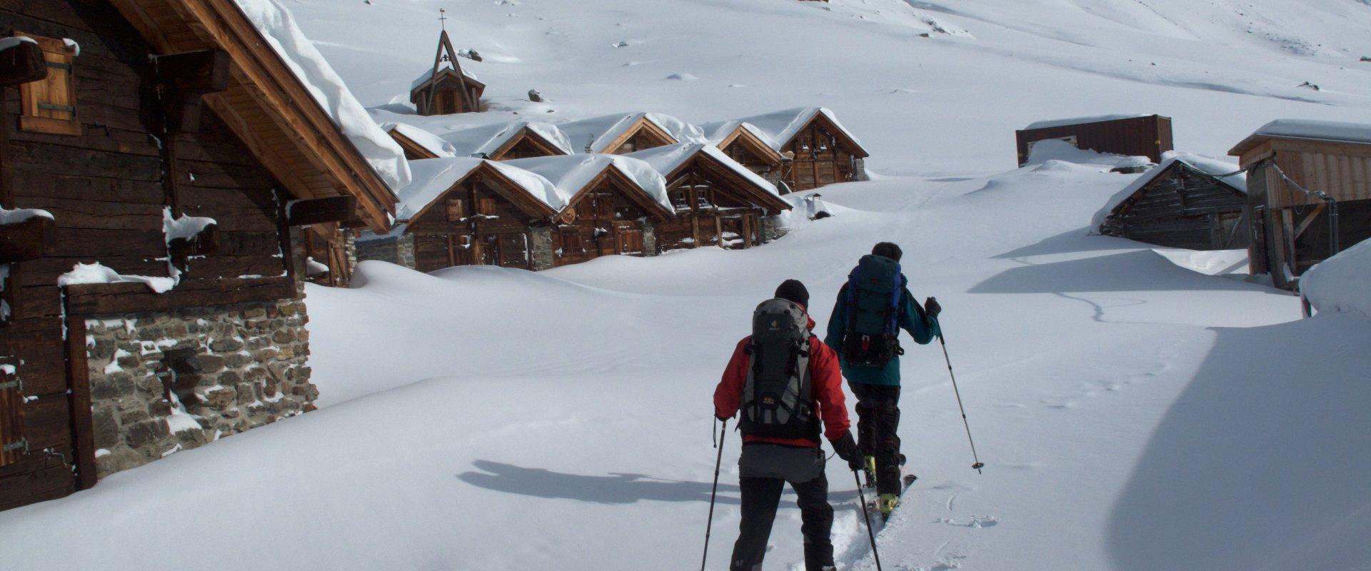 Ski de randonnée à Saint-Martin