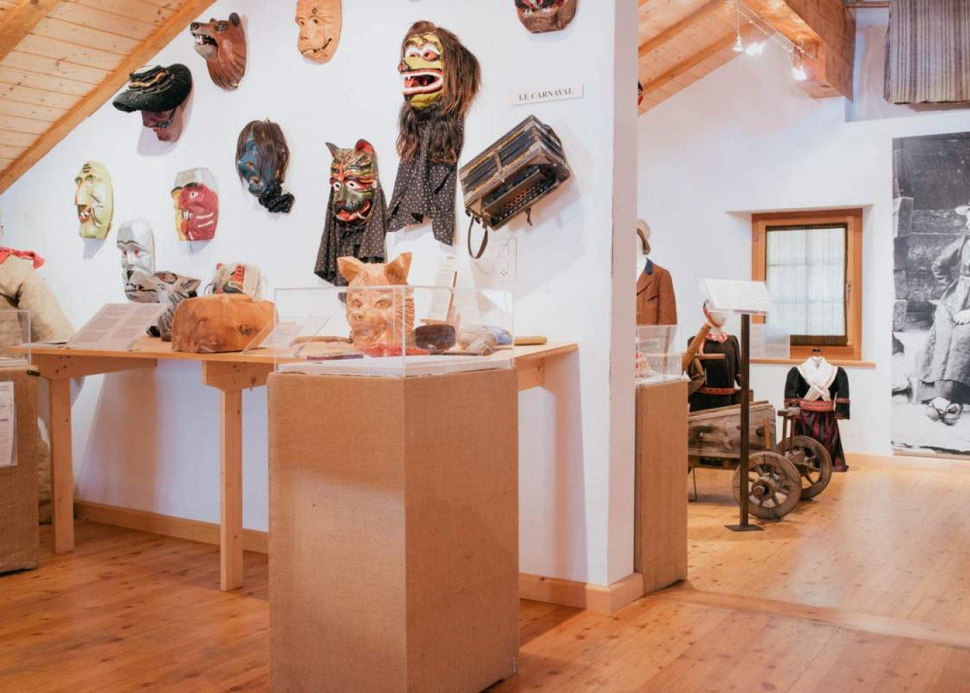 Visite guidée du musée d'Evolène
