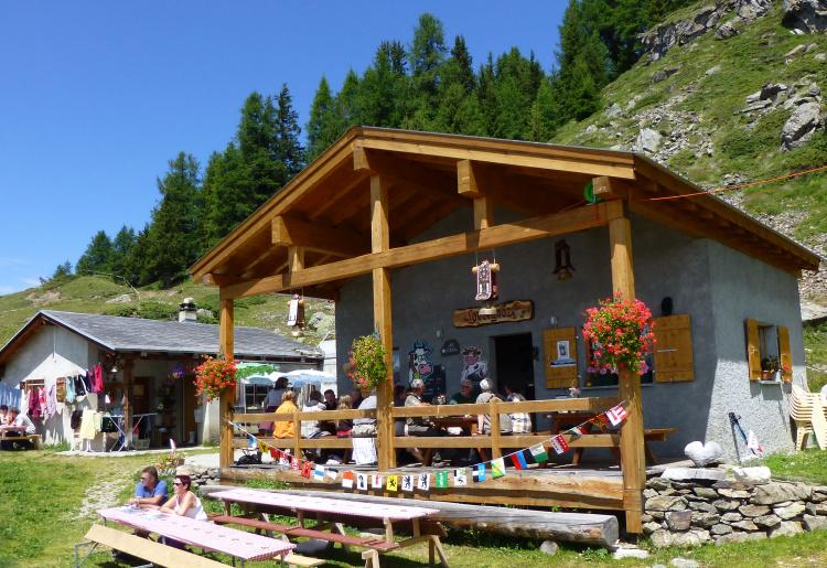 Buvette de l'alpage de Loveignoz