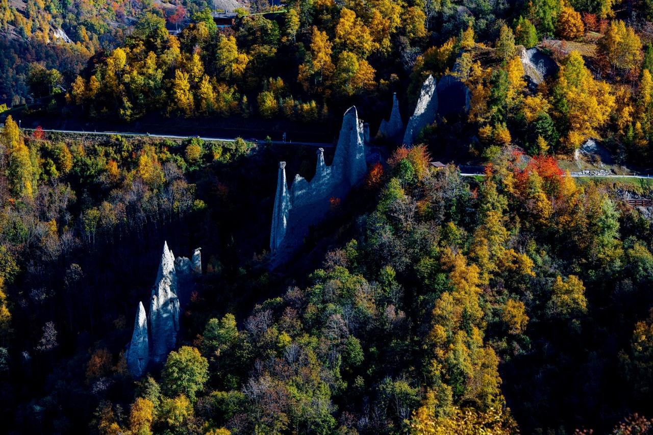 Un week-end d'automne au Val d'Hérens