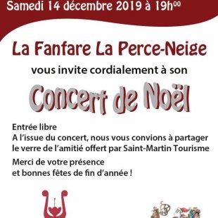 Concert de Noël de la Perce Neige