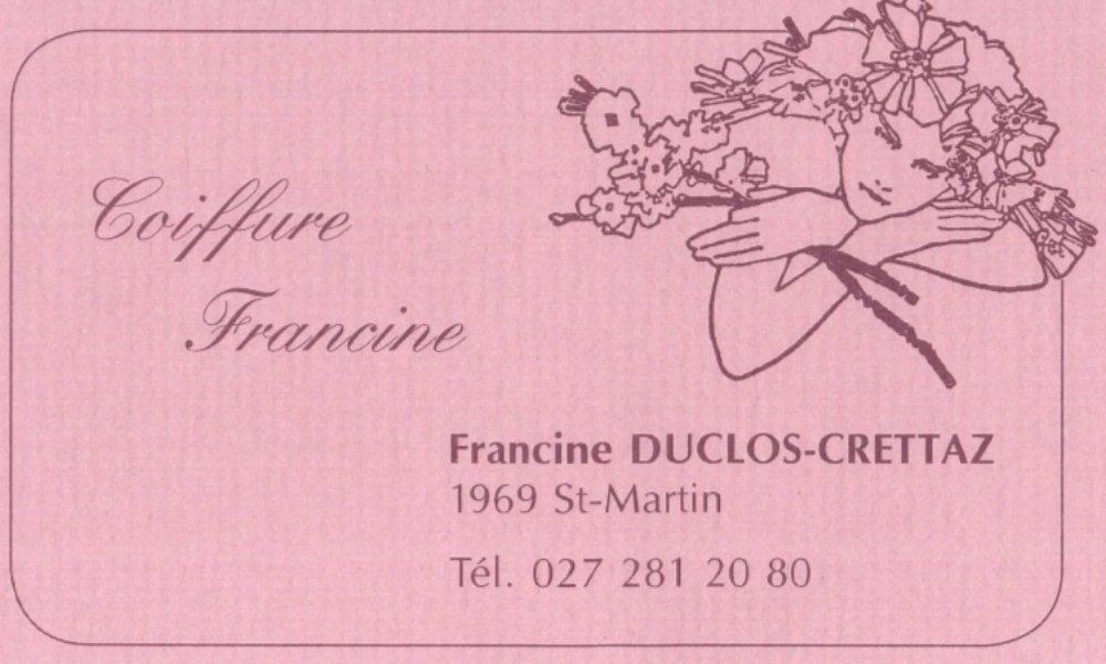 Coiffure Francine