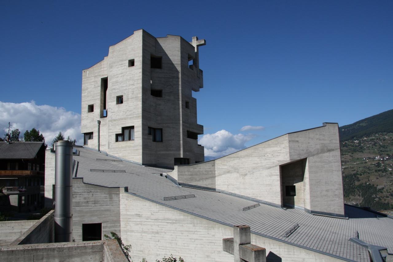L'église d'Hérémence, une église de béton