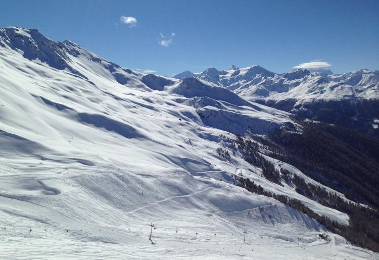 Ski de piste autour de Saint-Martin