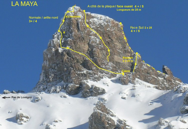 Alpinisme: Maya